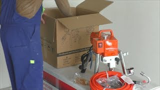Аппарат для безвоздушной покраски ASpro AS 2000. Обзор