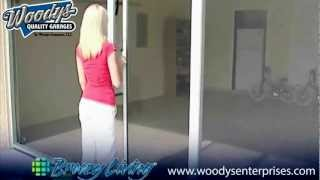 How To Convert Garage With Breezy Living Garage Screen Door | Video By Woodys Enterprises