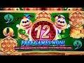 KONAMI SLOTS! Mammoth Power- Lucky Honeycomb Twin Fever- 5 Elemental Dragons Slot Machines BONUSES