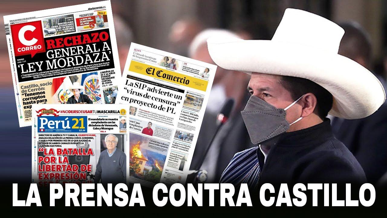 LA PRENSA CONTRA CASTILLO