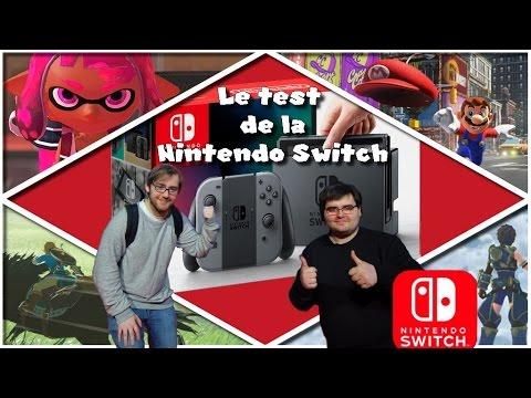 Découverte de la Nintendo Switch, les jeux et tour de l'événement !