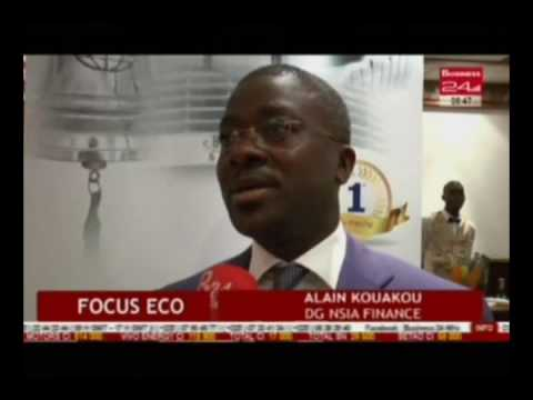 Business 24 / Focus Eco - Investment afterwork Nsia Finance