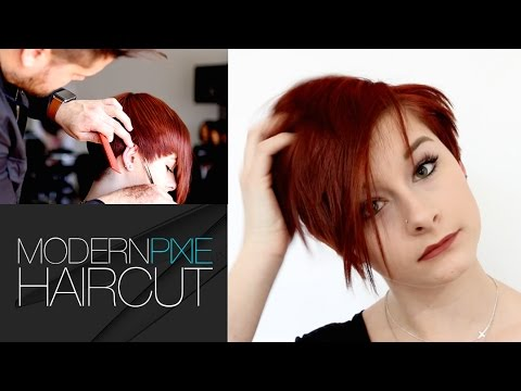 HOW TO MODERNIZE A PIXIE HAIRCUT TUTORIAL