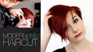 HOW TO MODERNIZE A PIXIE HAIRCUT TUTORIAL | MATT BECK VLOG 24
