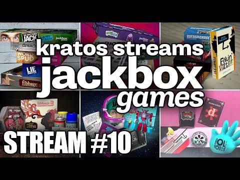 Kratos Streams Jackbox Games Part 10: New Chat Window!!!!