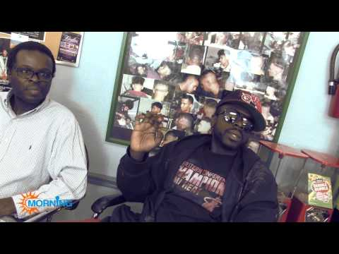 DJ Wake Up Interview - Zoe Pound Redd Eyezz About Miami Haitian Rappers And The Music Industry