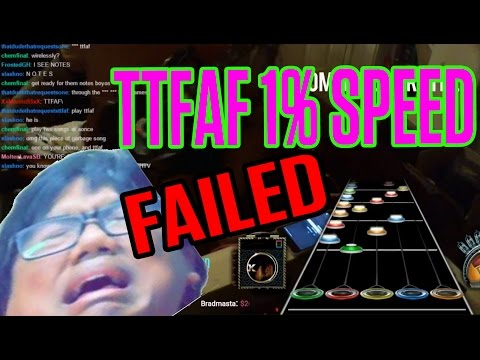 Thumbnail: TTFAF 1% SPEED IS IMPOSSIBLE!!!!!!! (I failed.)
