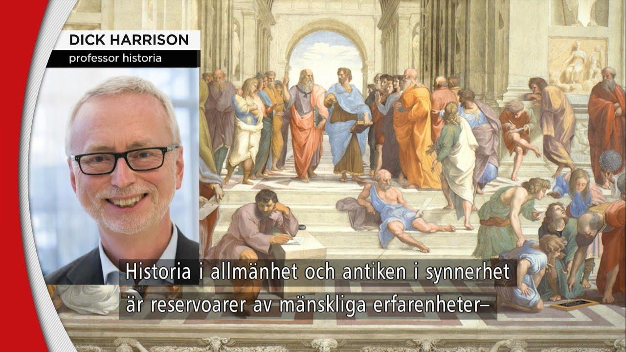 """Dick Harrison kräver mer av historieämnet: """"Grundproblemet kvarstår"""" - Nyheterna (TV4)"""