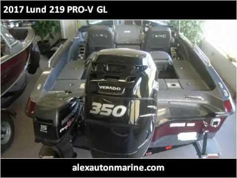 2017 Lund 219 PRO-V GL New Cars Alexandria MN