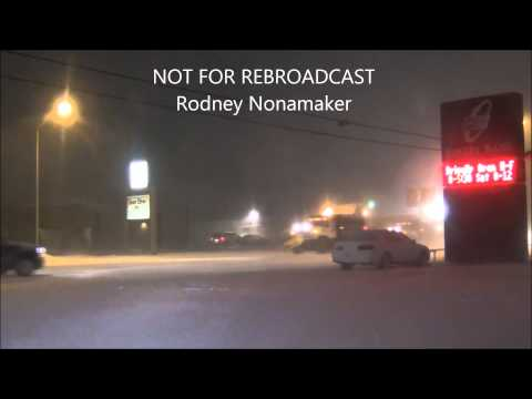 Hays, Kansas 1/03/2015 Snow Storm