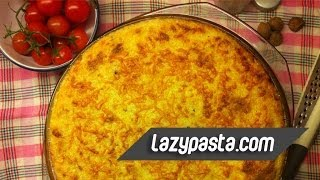 Pastitsio (pasticcio) | Easy Pasta Recipes By Lazy Pasta