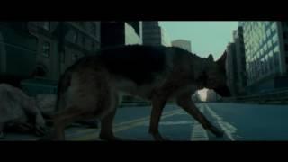 Зараженные собаки нападают на Роберта.. Я - легенда
