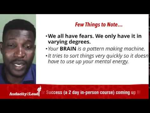 How Fear Works in The Brain (part 2) Live Presentation by Dayo Samuel