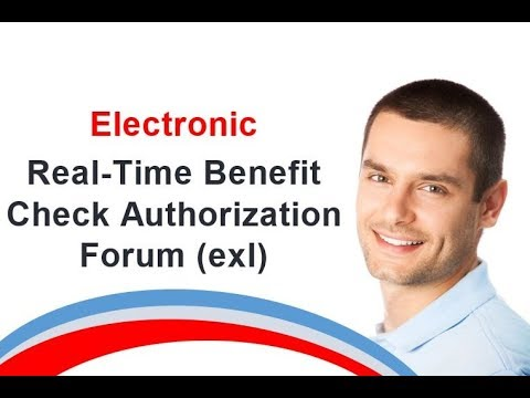 Electronic Real Time Benefit Check Authorization F