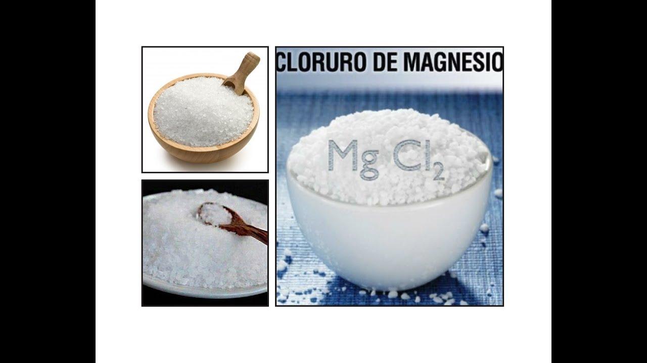 Cloruro de magnesio por cuanto tiempo tomarlo