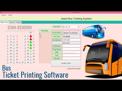 RIO Bus Ticketing Software