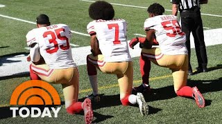 NFL Will Fine Teams If Players Kneel During National Anthem | TODAY