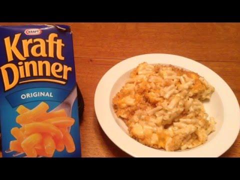 Kraft-ing (a Canadian) Dinner
