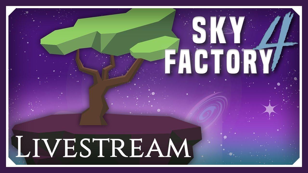 Sky Factory 4 Livestream | Finishing The Doughnut Shop! | (Sky Factory 4  SMP Skyblock 1 12 2)