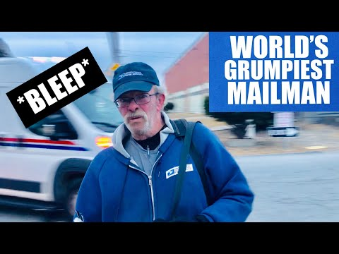 """FILTHY MOUTH : WORST mailman EVER!!!! 1st amendment audit FAIL """"AMERICA HATES FREEDOM"""""""