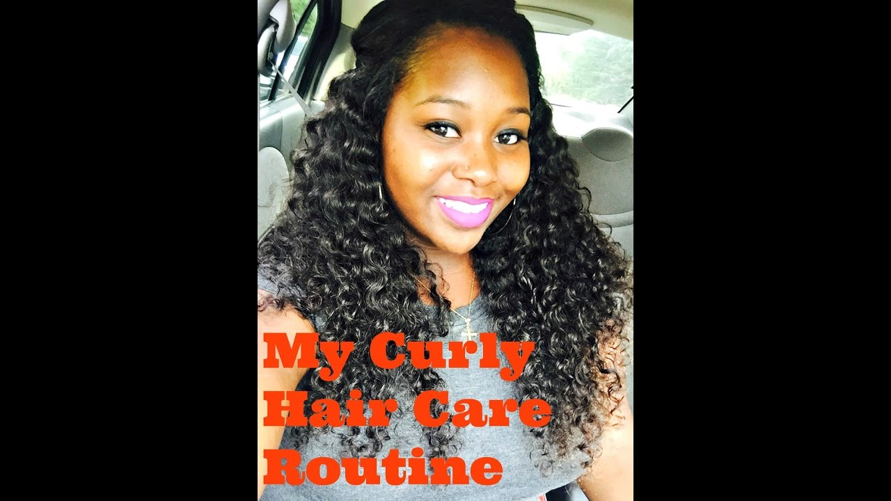 How I Care For My Curly Hair Weave Daily Routine Ace Virgin Hair