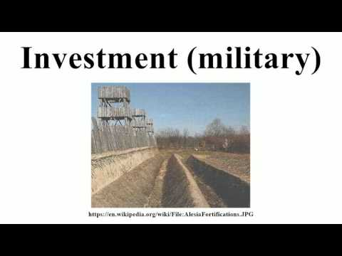 Investment (military)
