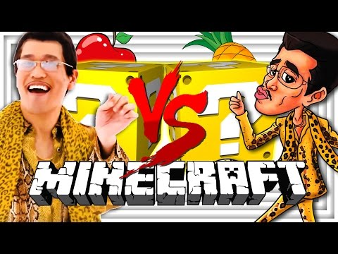 Thumbnail: Minecraft | PPAP LUCKY BLOCK CHALLENGE | PEN PINEAPPLE APPLE PEN BATTLES?