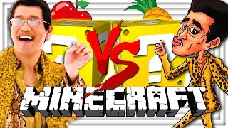Minecraft | PPAP LUCKY BLOCK CHALLENGE | PEN PINEAPPLE APPLE PEN BATTLES? thumbnail