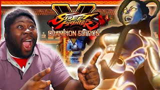 Street Fighter V Champion Edition Seth Trailer Reaction - NOW THATS AN OVERHAUL!