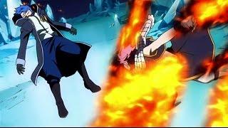 Fairy tail: Natsu vs Jellal | Sub español | 720p HD