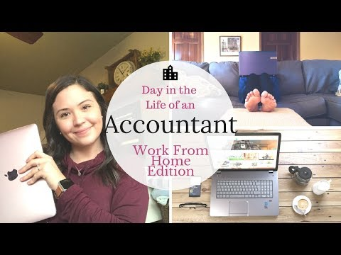Day in the Life of an Accountant | Work From Home Edition |