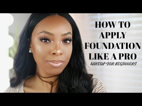 TUTORIAL: HOW TO PREP YOUR SKIN & APPLY FOUNDATION