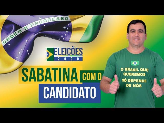 Assista agora a sabatina com o candidato a prefeito de Mafra, Jeferson Lopes