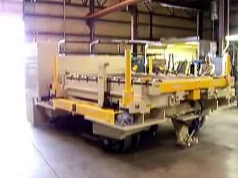 Titan Mold Transporter 2104:  100,000 lb Capacity