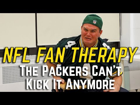NFL FAN THERAPY: The Packers Can't Kick It Anymore