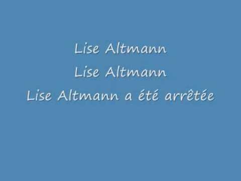 Lise Altmann Daniel Balavoine