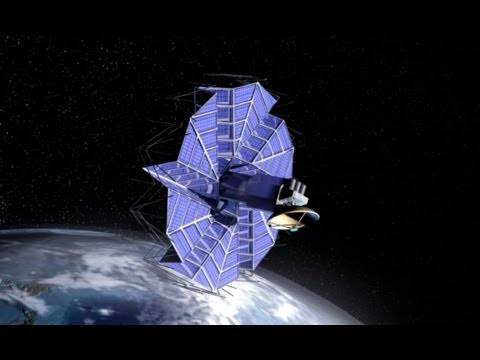 Origami in Space: BYU-designed solar arrays inspired by origami