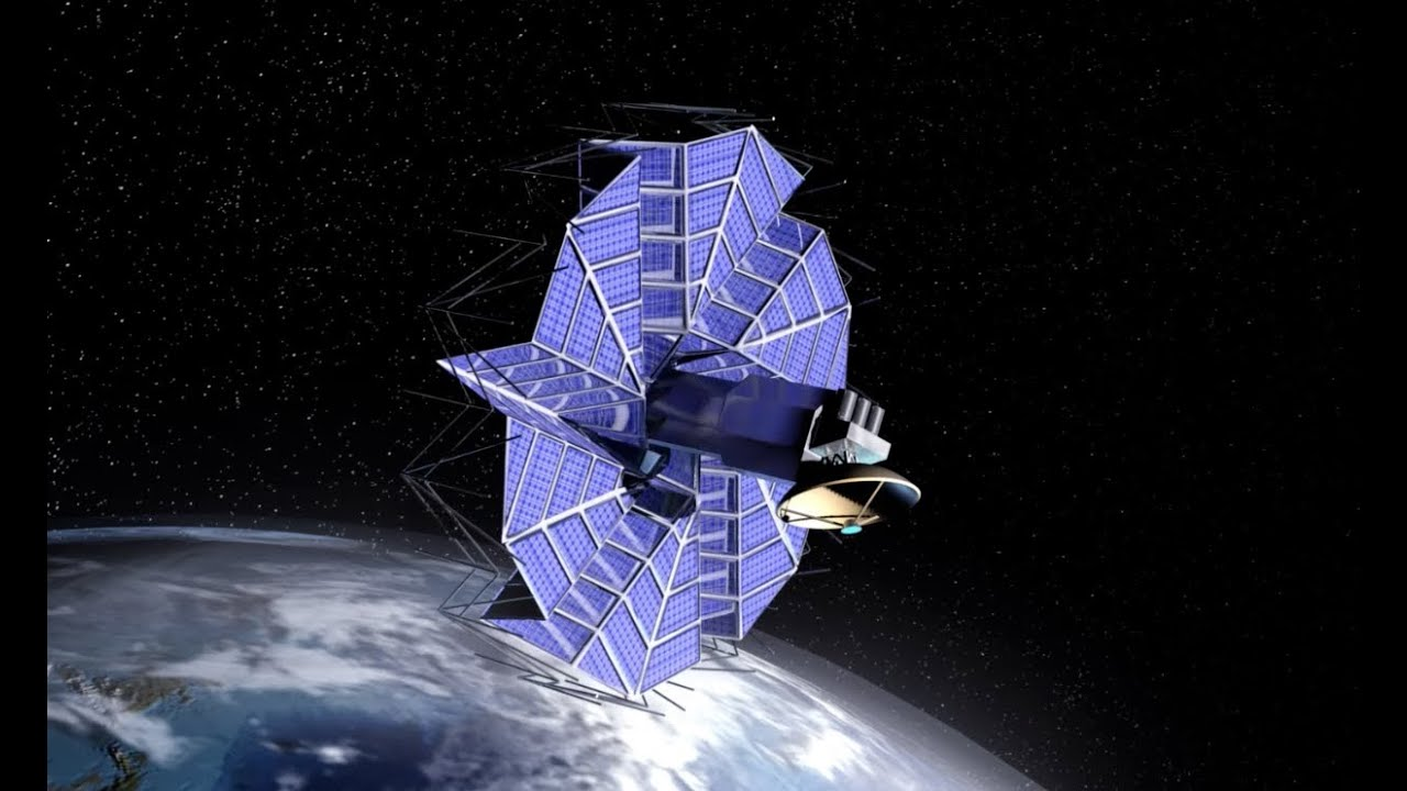 Origami In Space Byu Designed Solar Arrays Inspired By