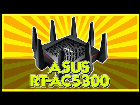 THE BEST ROUTER FOR GAMING?  ASUS AC5300