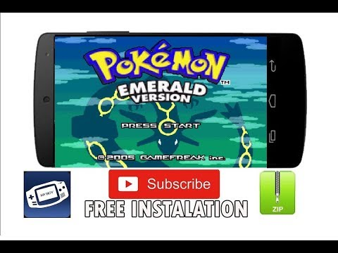 2019 Pokemon Install Emerald Version And Any Games For Android Emulator Full