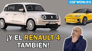 NUEVO RENAULT 5 ¡Y EL R4 TAMBIÉN! LOS DATOS Y PRECIOS QUE YA SABEMOS