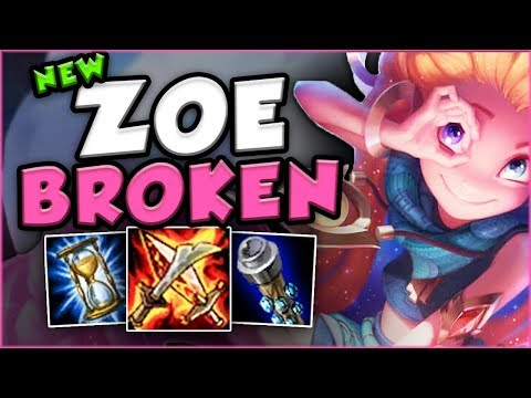 HOW STUPID IS THIS NEW CHAMP ZOE IN TOP LANE? NEW ZOE TOP GAMEPLAY! - PBE League of Legends Gameplay