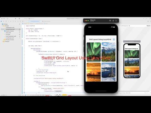 SwiftUI Grid Layout Using LazyVGrid