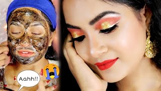 I Went to My SUBSCRIBER to Get Makeup Done || Nilheart | Subscriber Does My Makeup