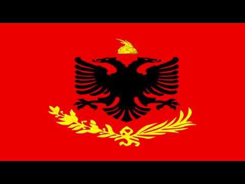 Bandera del Ejercito Real de Albania - Flag of the Royal Army of Albania