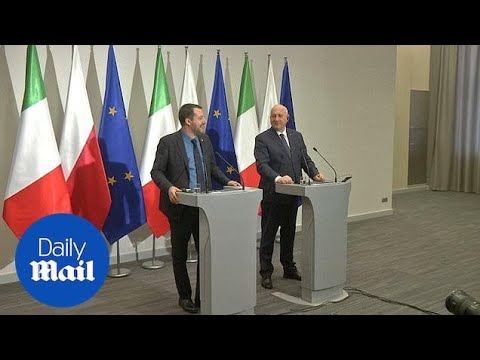 Italy and Poland discuss forming alliance countering Franco-German axis