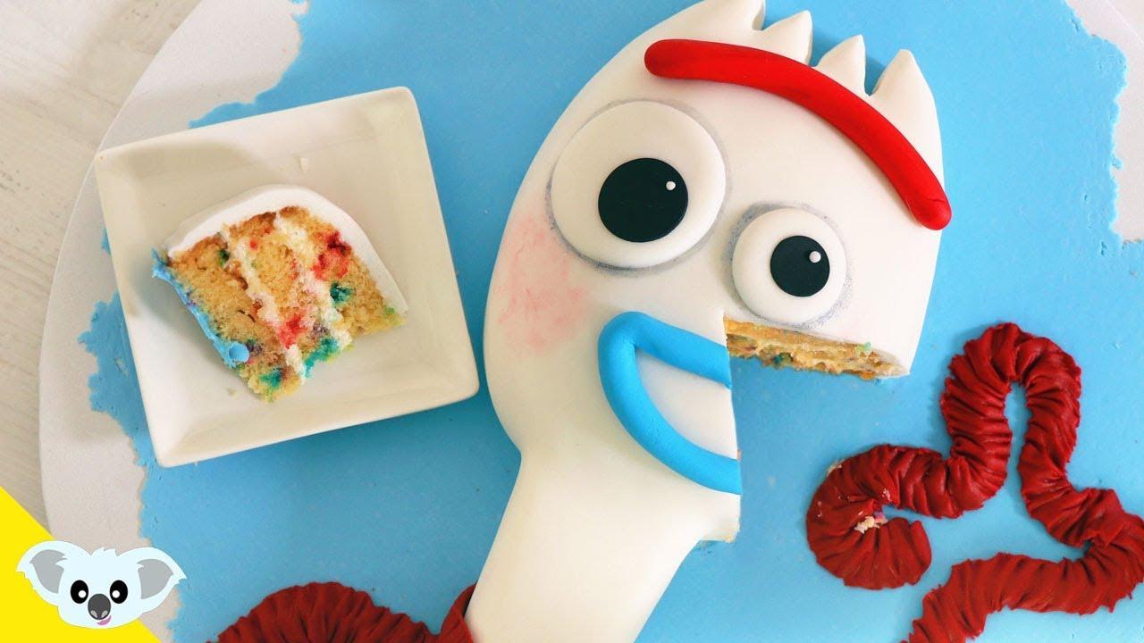 Toy Story 4 Forky Birthday Cake