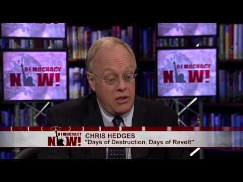 """Chris Hedges: From WikiLeaks to AP Scandal, U.S. Nears """"Totalitarian Security & Surveillance State"""""""