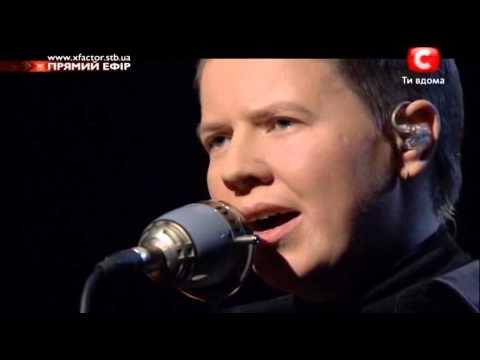 X Factor UA Евгений Литвинкович Темная ночь