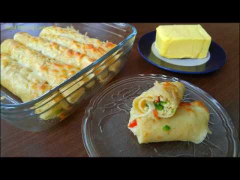 Cheese & Eggs Crepes - Kids Lunch Box & Breakfast Idea By Mind Blowing Cooking